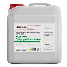 Покрытие съедобное Экокроут (клеевое) - канистра 5 литров
